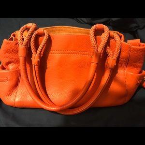 Cole Haan Orange leather handbag